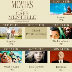 Movies at Cape Mentelle