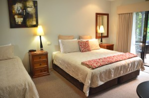 Unit 3 & 7 Twin/Triple Room Vintages Accommodation Margaret River